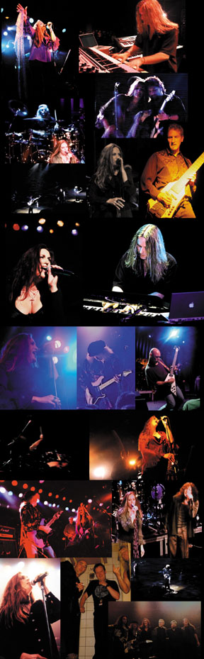 Lana Lane Band Live Collage from DVD