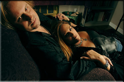 Erik Norlander and Lana Lane