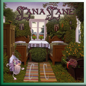 Lana Lane - Gemini album cover