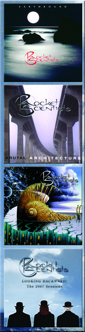 Rocket Scientists - Looking Backward CD Covers