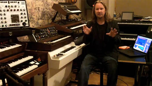 Norlander SampleMoog video still