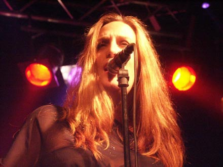 Lana Lane Live 2004 Photo by Eddy Meuwese